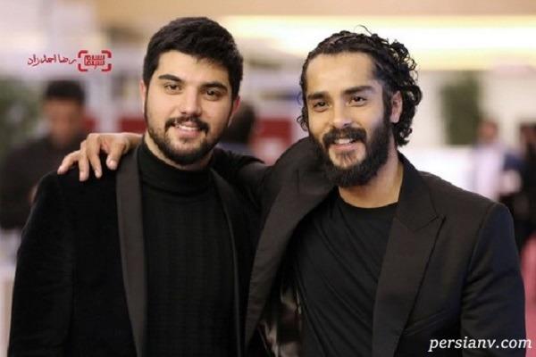 سینا مهراد و برادرش ساعد سهیلی
