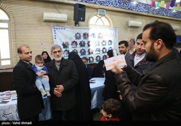 سردار قاآنی در انتخابات