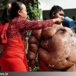کاهش وزن ۱۱۰کیلویی چاق ترین پسر جهان
