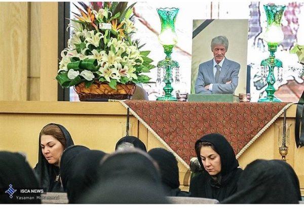 مراسم درگذشت پدر لاله اسکندری