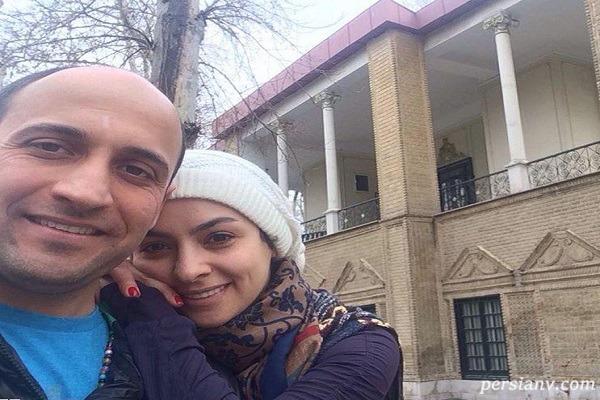 مارال بنی آدم و همسرش علی سرابی