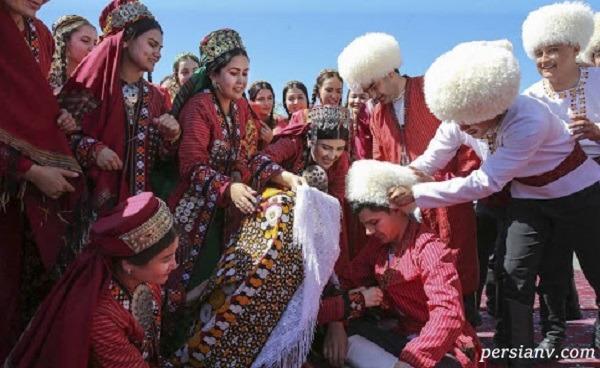 ماشین عروس ترکمنی