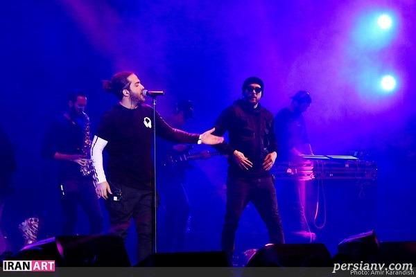 تصاویر کنسرت مسیح و آرش در جشنواره موسیقی فجر در روز افتتاحیه