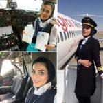 نشاط جهانداری و همسرش ؛ زندگی شخصی و کاری دومین خلبان زن ایرانی