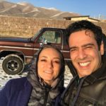 نیما فلاح و همسرش سحر ولدبیگی در یک چالش آشپزی