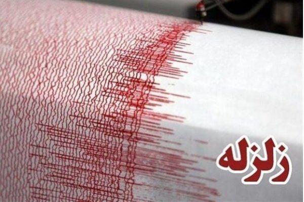 لحظه وقوع زلزله در آذربایجان غربی شهر زرآباد