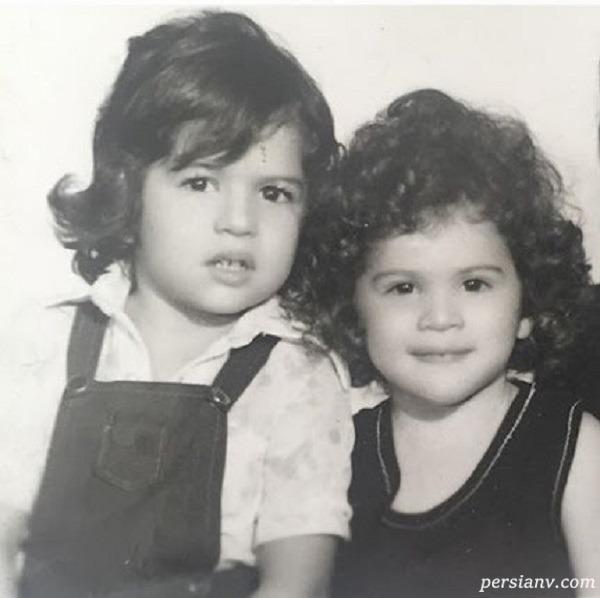 ویشکا آسایش و خواهرش