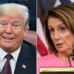 سخنرانی سالانه ترامپ ؛ قیافه جالب نانسی پلوسی هنگام سخنرانی ترامپ