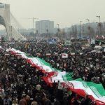 چهره ها در راهپیمایی ۲۲ بهمن انقلاب اسلامی