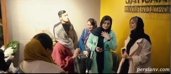 افتتاح گالری جواهرات شاهرخ استخری