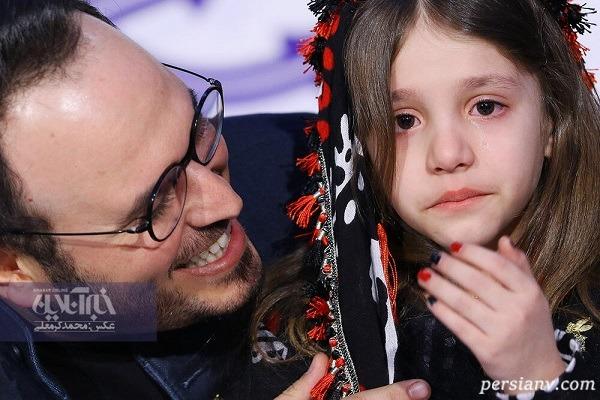 تصاویری از اشک و گریه های بازیگران در جشنواره فیلم فجر