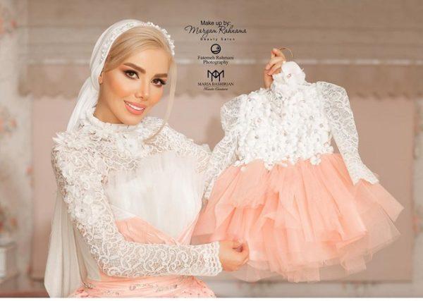 تولد یکسالگی هانا دختر مهران غفوریان