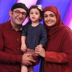فیلم شوخی خنده دار هدایت هاشمی و همسرش در جشنواره فجر