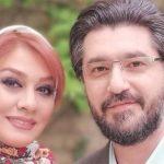 امیرحسین مدرس و همسر پای سفره هفت سین