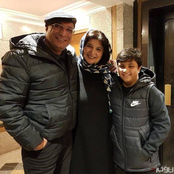 ریما رامین فر و خانواده