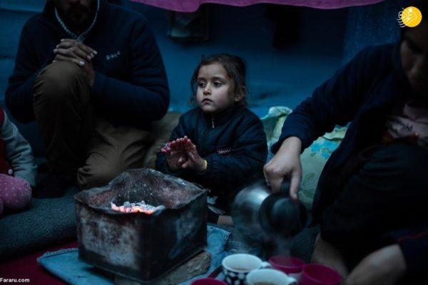 خانواده بازیگر افغان