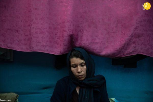 همسر بازیگر افغان