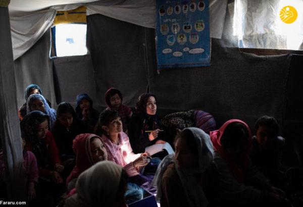 کمپ افراد مهاجر