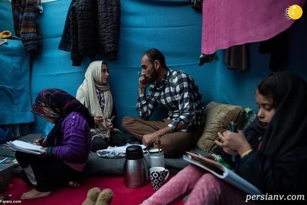 بازیگر مهاجر از وحشت تجاوز به همسر و دخترانش می گوید