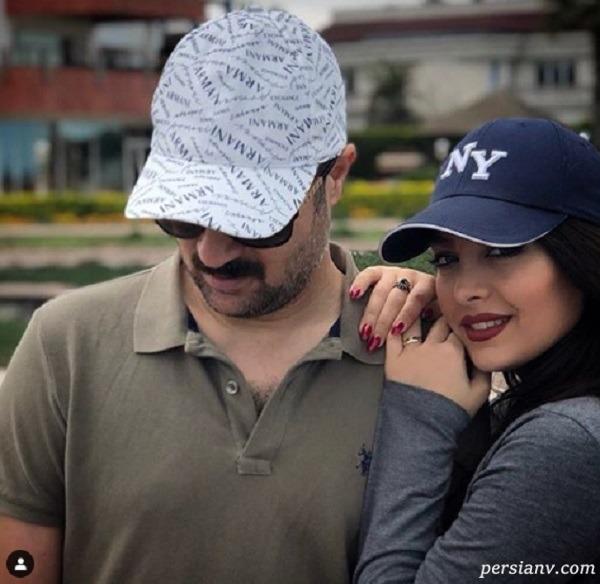 مونا فائزپور و احمد مهران فر