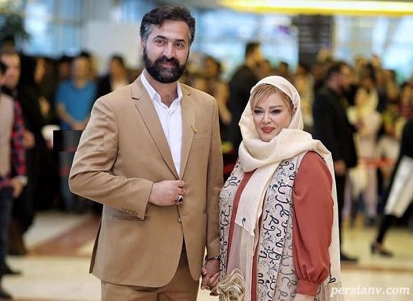 عکس زیبای بهاره رهنما و همسرش با رنگ و بوی بهار