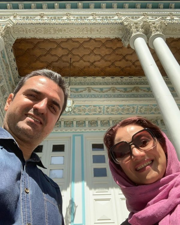 شبنم مقدمی و همسر