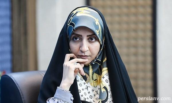 فضه سادات حسینی گوینده خبر به خاطر کرونا عزادار شد