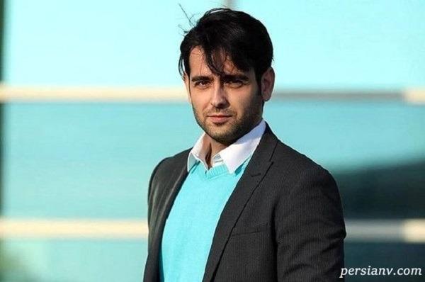 خوانندگی امیر حسین آرمان با فرزاد فرزین در پشت صحنه سریال مانکن