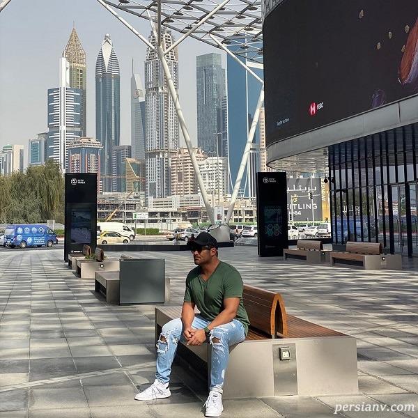 محمدرضا گلزار در دبی