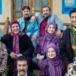 همسران بازیگران سریال پایتخت در کنار آنها