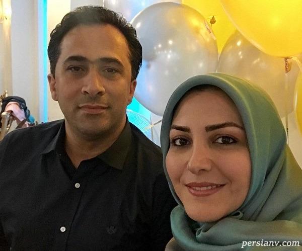 جشن تولد پسر داوود عابدی و المیرا شریفی مقدم در قرنطینه
