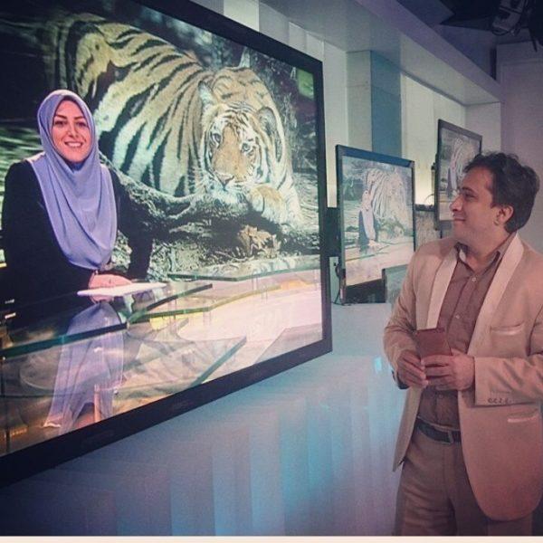 عکسی جالب از داوود عابدی و المیرا شریفی مقدم
