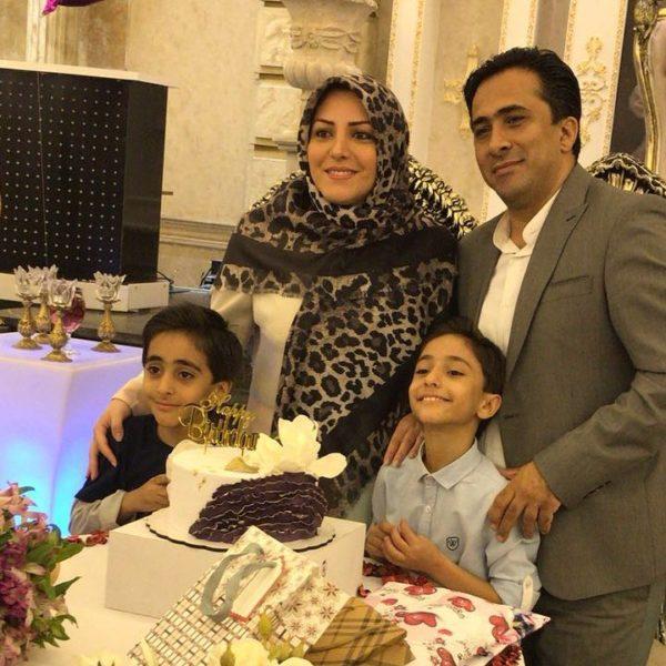 عکس خانوادگی داوود عابدی
