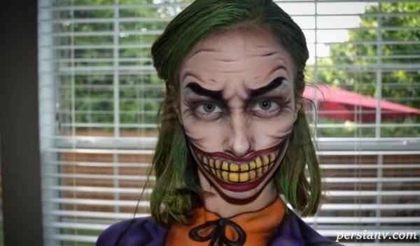 چهره ترسناک