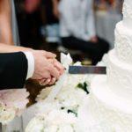کیک لوکس عروسی زوج معروف، میهمانان را شگفت زده کرد