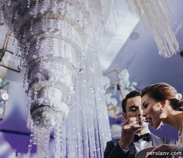 کیک لوکس عروسی