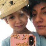 پیام مهناز افشار و دخترش برای کرونا به زبان انگلیسی