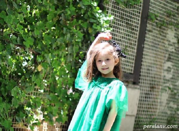 تصویر دختر شاهرخ استخری