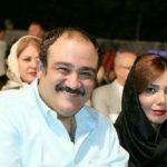 تصویر جدید از مهران غفوریان و مادرش