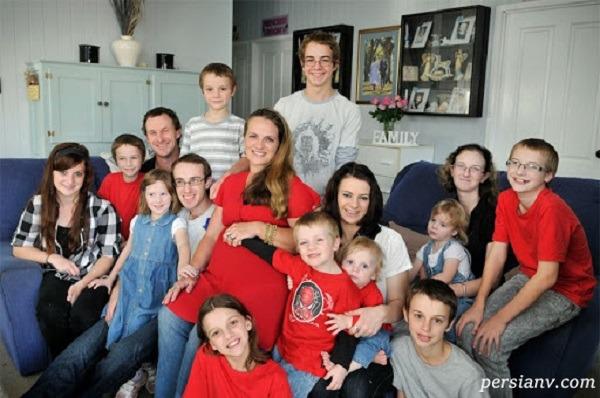 پرجمعیت ترین خانواده جهان