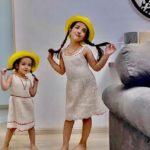 خوانندگی دختر رضا صادقی همراه با نوازندگی