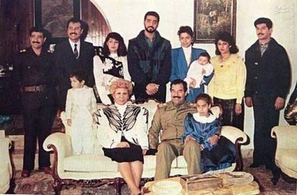 همسر صدام