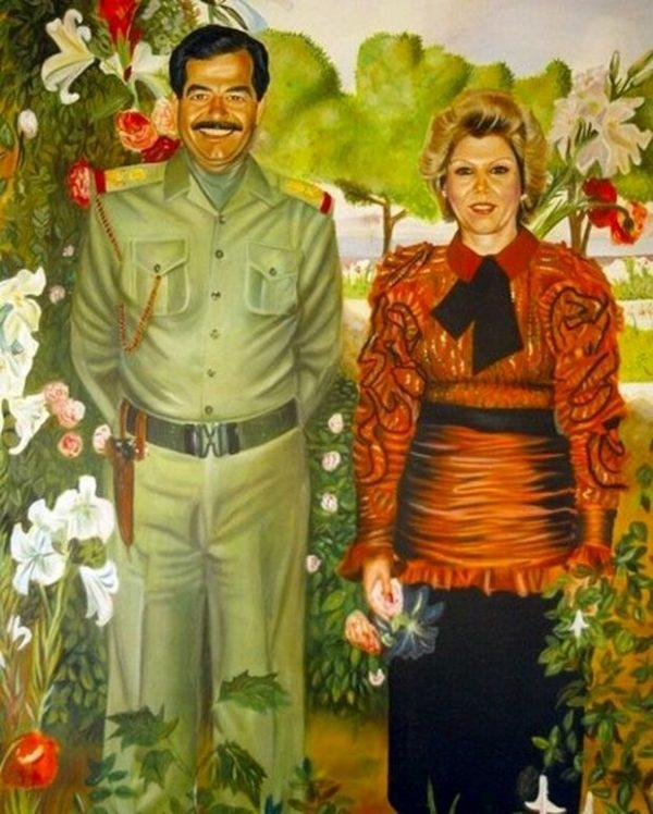 همسر اول صدام