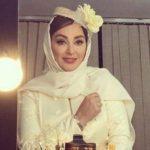 لباس عروس الهام حمیدی که به مناسبت سالگرد ازدواجش منتشر شد
