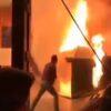 آتش سوزی در استودیو شبکه سه سیما هنگام ضبط یک برنامه