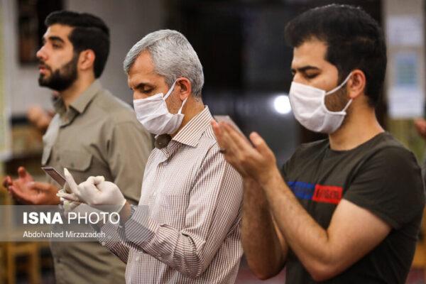 تصاویری از اقامه نماز عید فطر تهران
