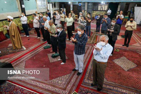 نماز عید فطر در مساجد