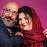 حرکت نامتعارف امیر جعفری و مهراوه شریفی نیا روی سن تئاتر