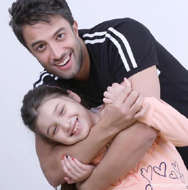 بنیامین بهادری با دخترش بارانا