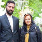 بهاره رهنما و همسرش امیرخسرو عباسی در باغ و ایام باران